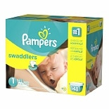 wag-Diapers Size 1 Giant Pack