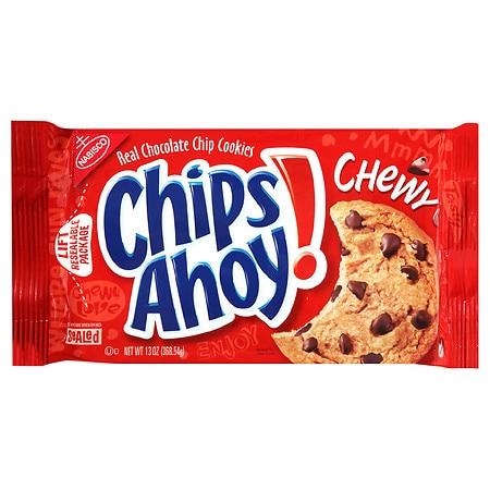 Chips Ahoy Chewy Cookies Chocolate Chip - 13 oz.