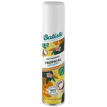 Batiste Dry Shampoo Tropical (Coconut & Exotic) - 6.73 fl oz