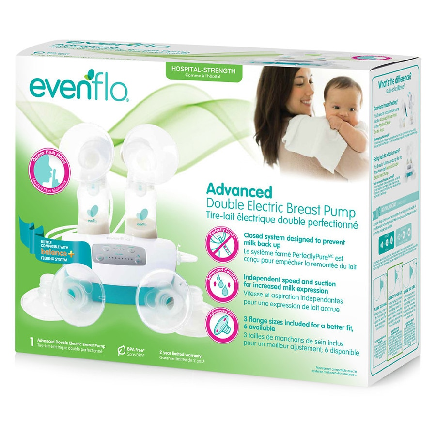 evenflo double breast pump : Target