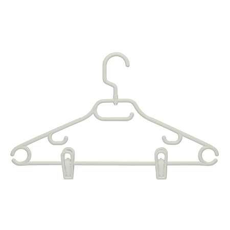 Honey Can Do Gram Hanger, Swivel With Dress Notch With Clips - 1 ea x 18 pack