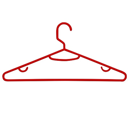Honey Can Do Recycled Plastic Hangers - 60 ea