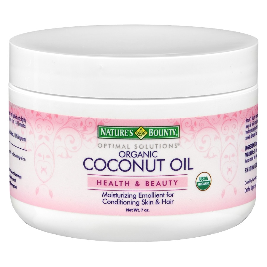 Nature's Bounty Optimal Solutions Coconut Oil