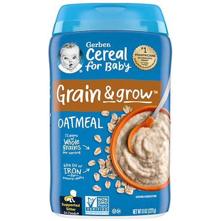 Gerber Baby Cereal Oatmeal