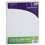Wexford College Ruled Filler Paper White