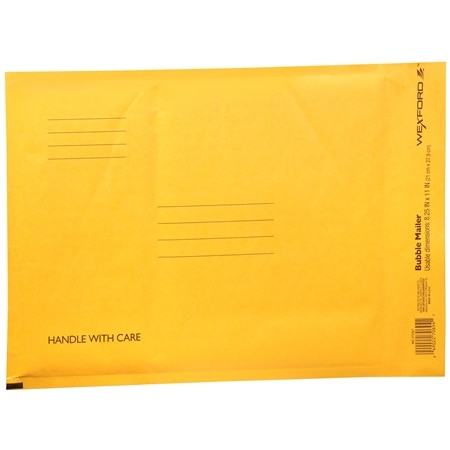 Wexford Bubble Mailer 8.25 inch x 11 inch - 1 ea