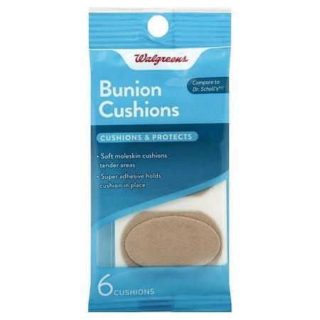 Walgreens Bunion Cushions - 6 ea
