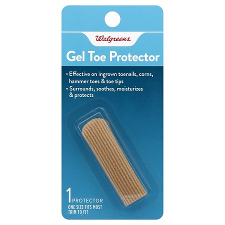 Walgreens Gel Toe Protector Fits Most - 1 ea