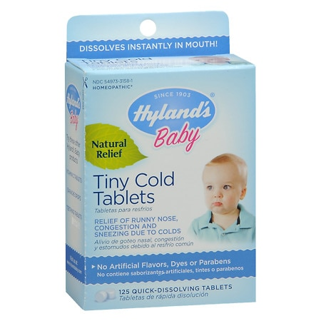 Hyland's Baby Baby Tiny Cold Tablets - 125 ea
