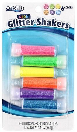 ArtSkills Glitter Shakers 6 Pack - 1 ea