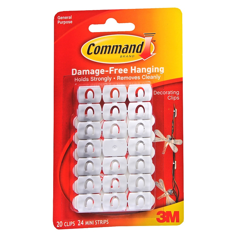 command strips damage free hanging clips strips10 ea
