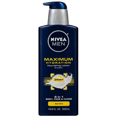 Nivea Men Maximum Hydration Nourishing Lotion, Dry Skin - 16.9 oz.