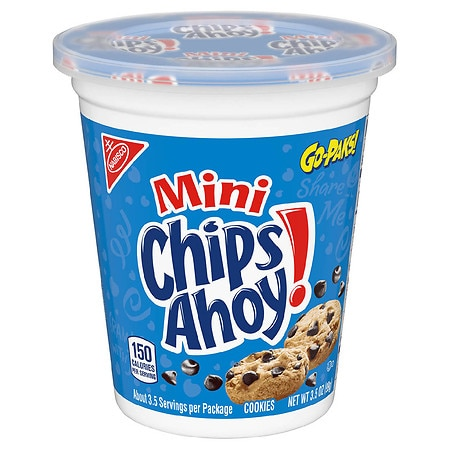 Chips Ahoy Cookies Chocolate Chip - 3.5 oz.