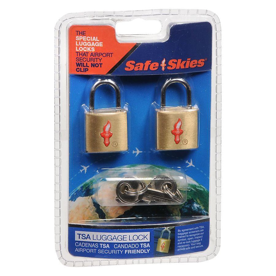 c1bc4b8533b4 Safe Skies TSA Luggage Locks
