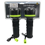 Living Solutions 2 Pack LED Flashlights