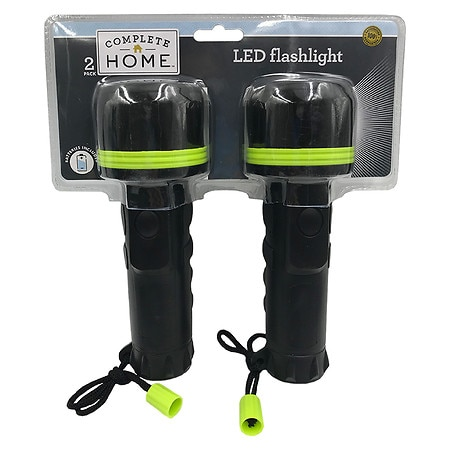 Living Solutions 2 Pack LED Flashlights - 2 ea