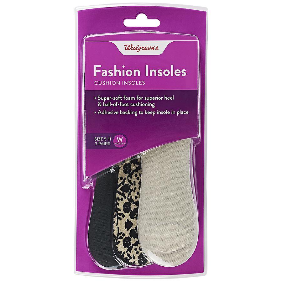 fe81ff937d Walgreens Women's Fashion Insoles 5-11 | Walgreens
