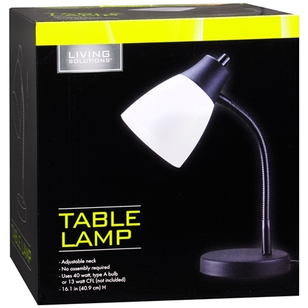Living Solutions Table Lamp - 1 ea