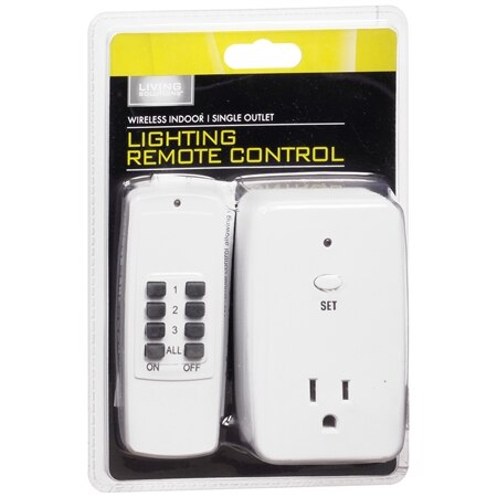 Living Solutions Lighting Remote Control - 1 ea