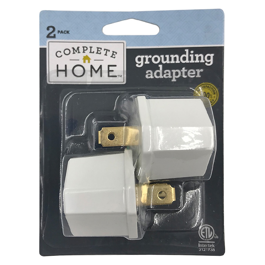 Living Solutions Grounding Adapters White Walgreens