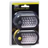 Living Solutions LED Worklight Set