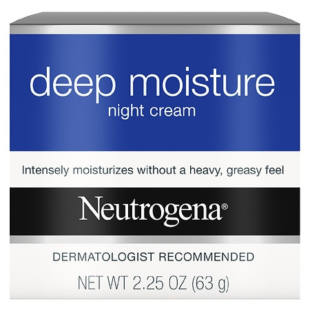 Neutrogena Deep Moisture Night Cream - 2.25 oz.