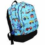 Olive Kids Trains, Planes & Trucks Sidekick Backpack