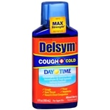 Delsym Adult Liquid Cough + Cold Daytime, Berry