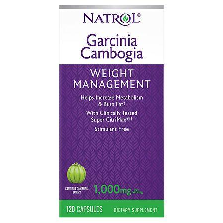 Natrol Garcinia Cambogia Extract Appetite Intercept Capsules
