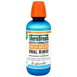 TheraBreath Fresh Breath Oral Rinse Invigorating Icy Mint