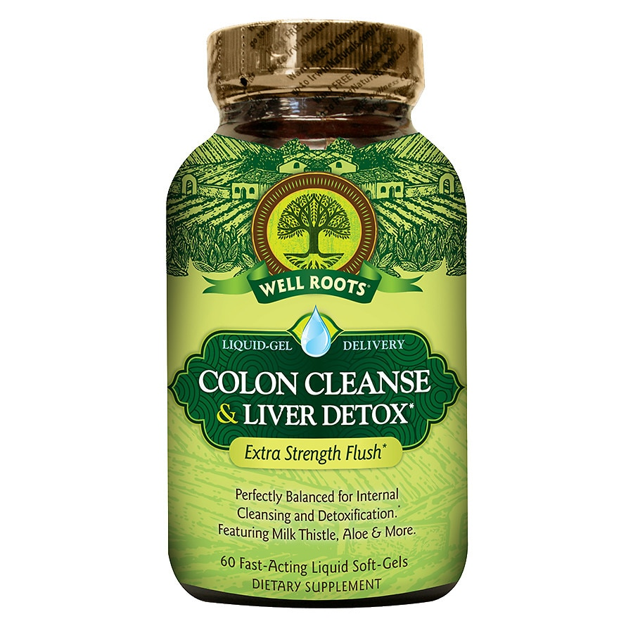 Cleanse walgreens well roots colon cleanse liver detox softgels malvernweather Gallery