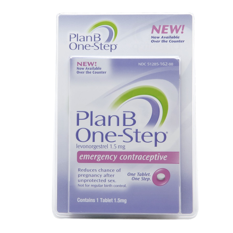 Plan B One Step Emergency Contraceptive Walgreens