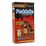 Yum-V's Choc-V's Probiotic + Prebiotic Fiber Bears White Chocolate