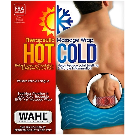 Wahl Hot-Cold Massage Vibrating Therapeutic Gel Pack - 1 ea