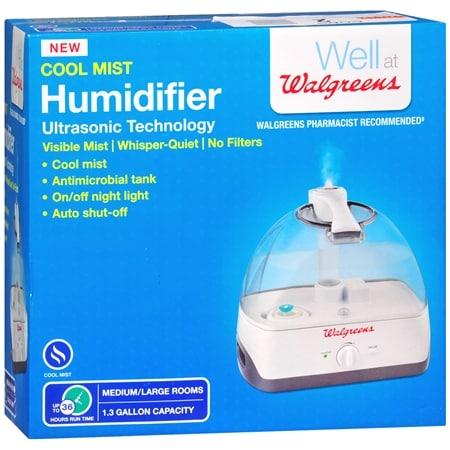 Walgreens Cool Mist Humidifier - 1 ea