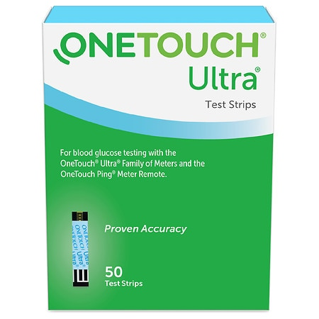 OneTouch Ultra Blue Test Strips - 50 ea