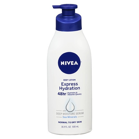 Nivea Express Hydration Body Lotion Lotus Flower