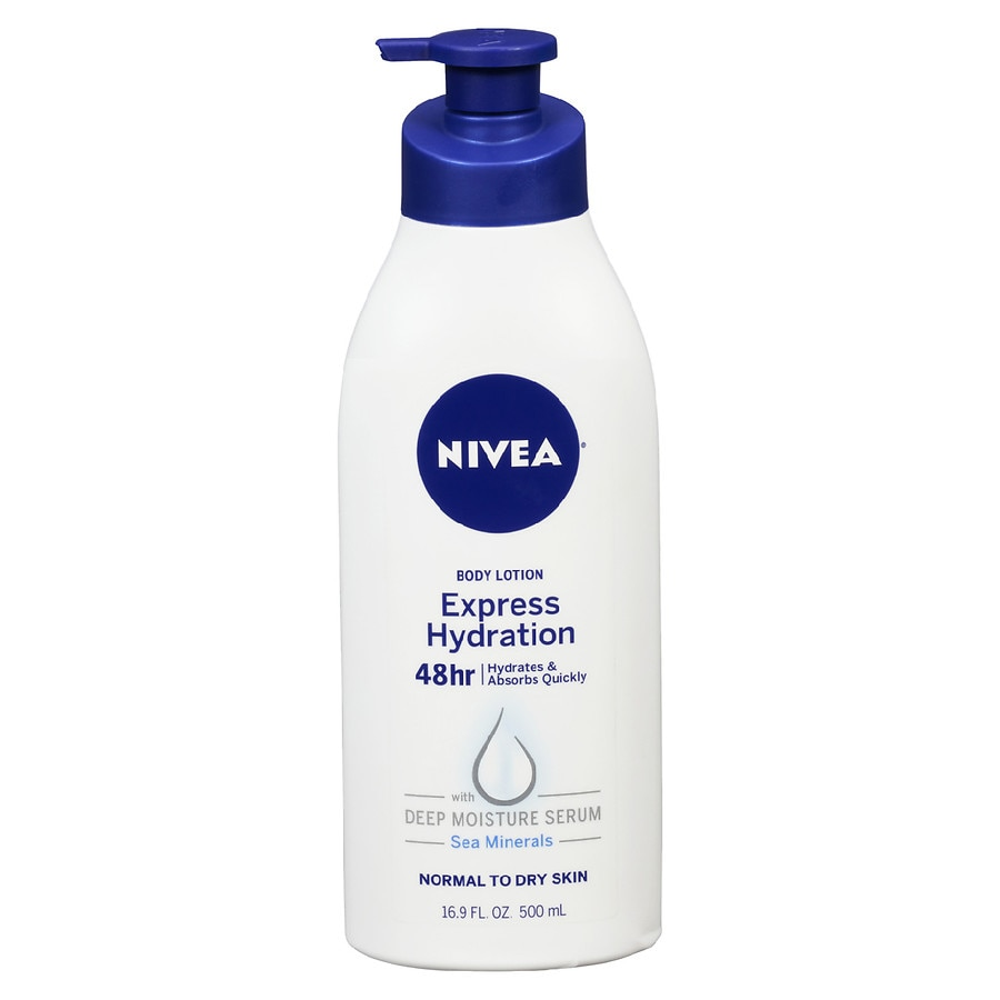 Nivea Express Hydration Body Lotion Lotus Flower Walgreens