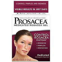 Prosacea Rosacea Treatment Homeopathic Topical Gel Walgreens