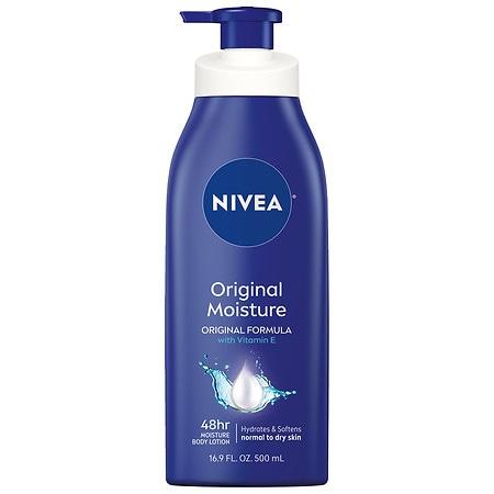 Nivea Original Moisture Body Lotion, Normal to Dry Skin - 16.9 oz.