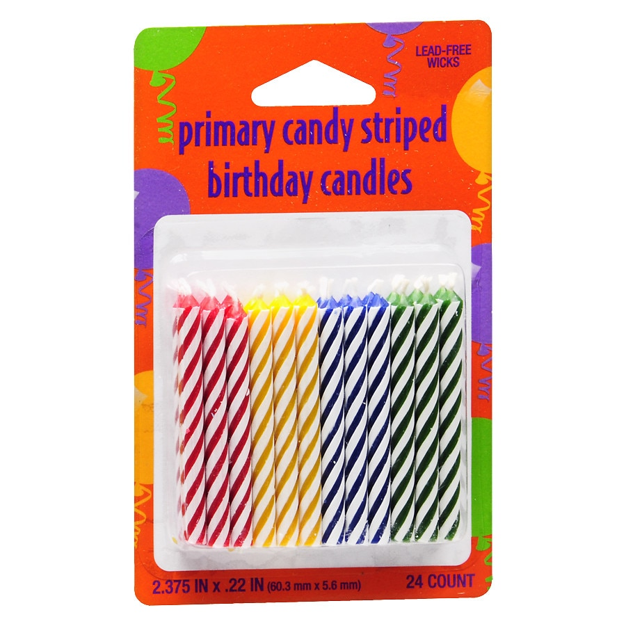 Creative Converting Birthday Candles Multi240 Ea