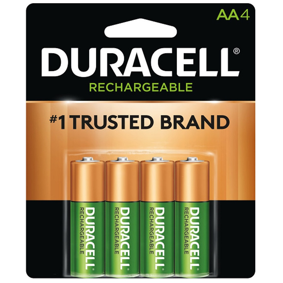 Duracell Rechargeable NiMH Batteries AA | Walgreens