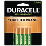 Duracell Rechargeable NiMH Batteries AAA