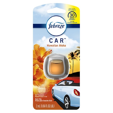 Febreze Car Vent Clips Air Freshener Hawaiian