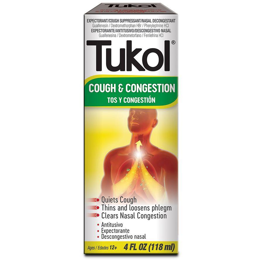 Tukol Adult Multi Symptom Cold Liquid Walgreens