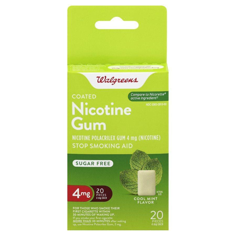 Walgreens coupon nicotine gum