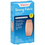 Walgreens Flexible Fabric Adhesive Bandages Extra-Large