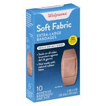Walgreens Soft Comfort Fabric Bandage Extra Large