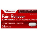 Walgreens Extra Strength Pain Reliever Caplets