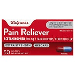 Walgreens Extra Strength Pain Reliever Gelcaps